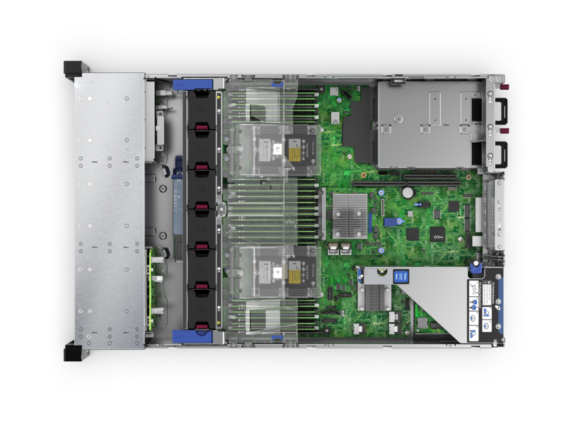server-hpe-dl380gen10-inside