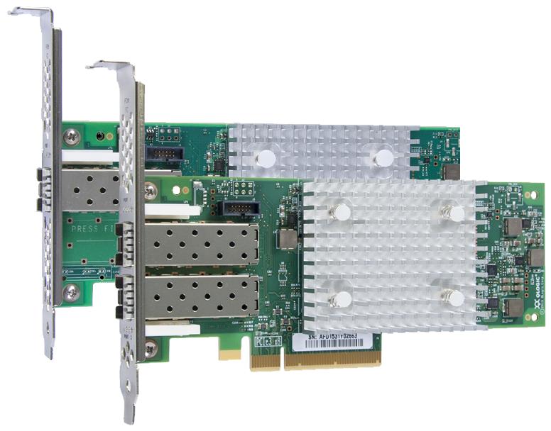 QLogic 16Gb Enhanced Gen5 FC Dual-port HBA