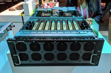 Tổng quan máy chủ Dell EMC DSS 8440 10 GPU GPU 4U