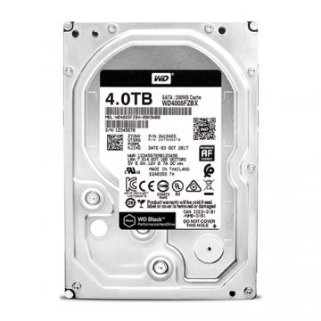 WD Black 4TB SATA 7200rpm 64M