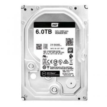 WD Black 6TB SATA 7200rpm 64M